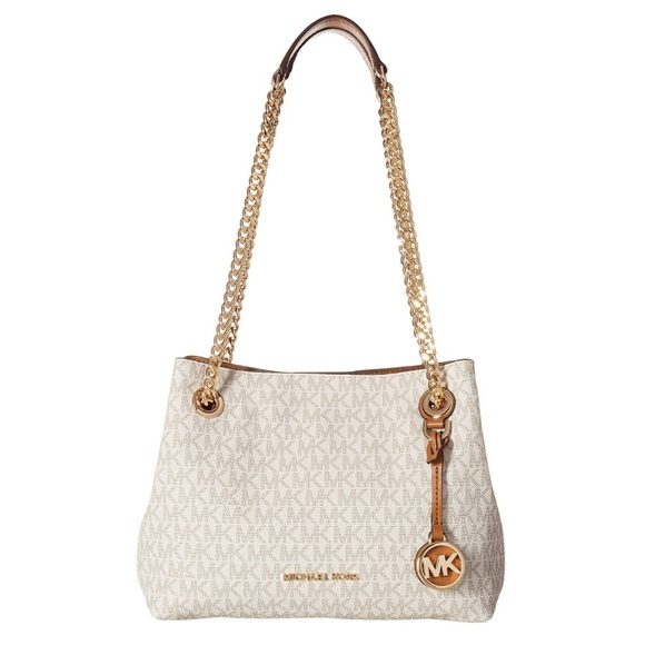 126a73537fb0 Michael Kors Jet Set Chain Messenger Shoulder Bag.  M 5c0d932404e33d81458e4cfd
